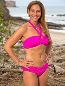 Carolyn Rivera, currently in the final 6 of Survivor: Worlds Apart, could potentially be back on our screens in September. (photo credit: cbs.com)