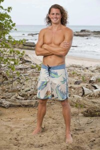 Even though Joe Anglim is still on the jury of Survivor: Worlds Apart, don't miss him too much. He will be back in September to swoon over fans yet again. (photo credit: cbs.com)
