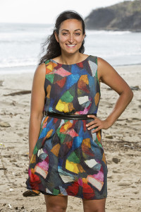 """Shirin Oskooi, who finished in 8th place on this seasons  """"Survivor Worlds Apart"""", will likely give it another go on Survivor: Second Chances. (photo credit: CBS)"""